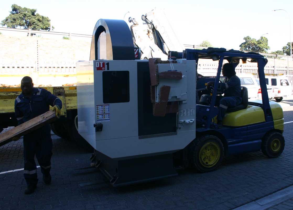 Our Haas DT-1 CNC Machine.